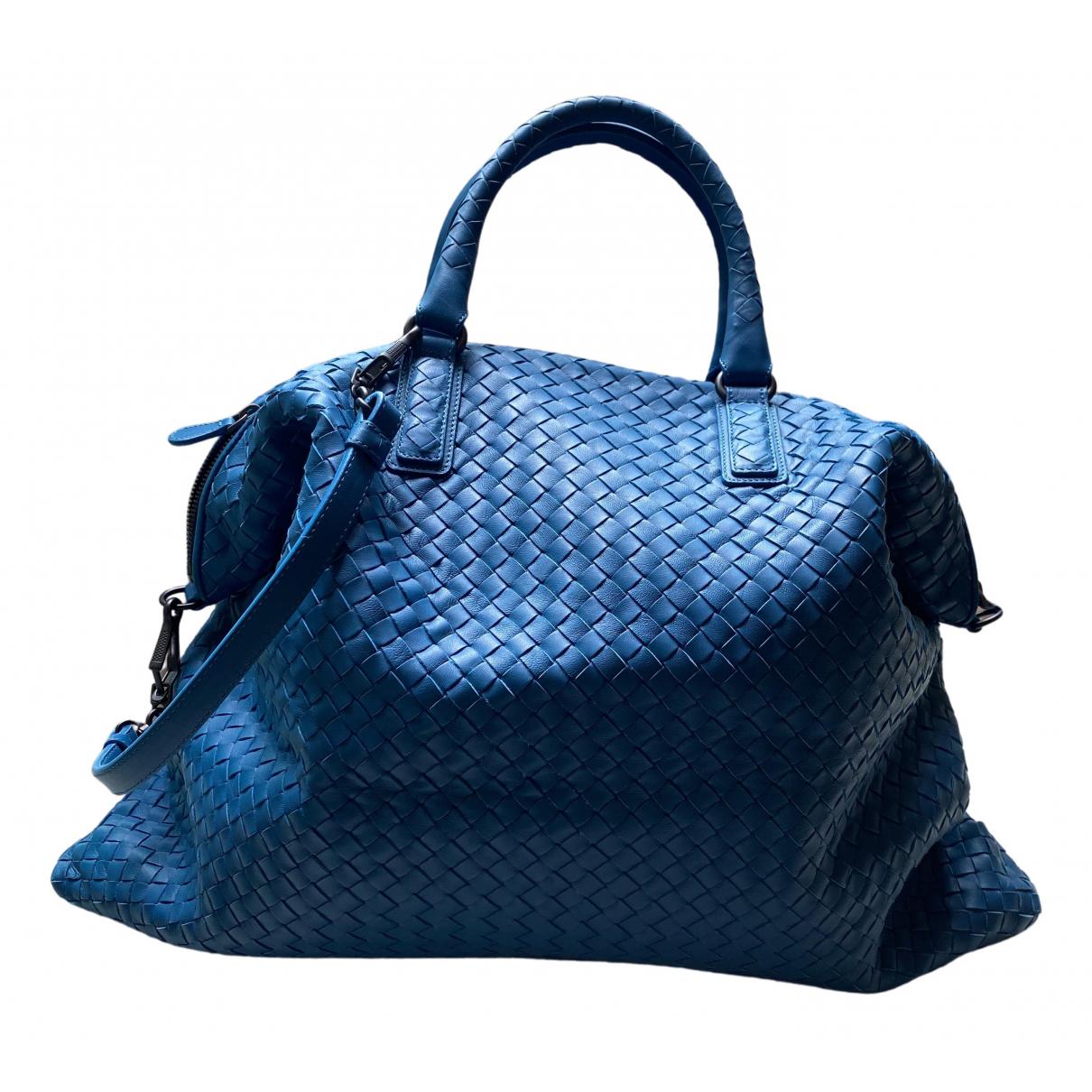 Bottega Veneta \N Reisetasche in  Blau Leder