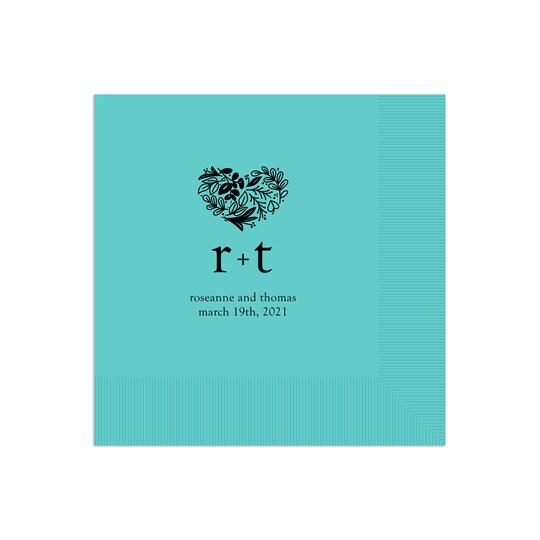 Gartner Studios® Personalized Full Heart Wedding Napkin | Michaels®