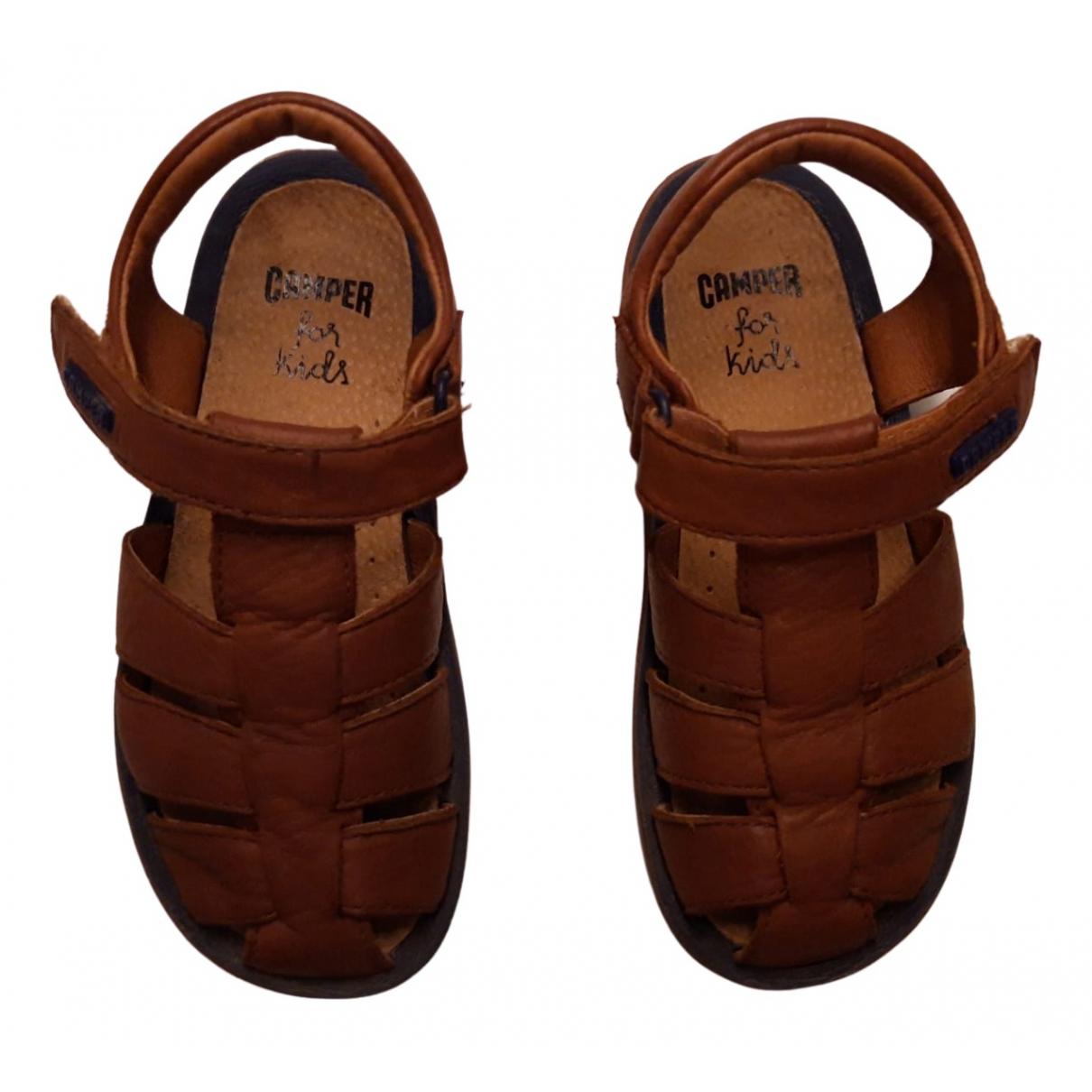 Camper - Sandales   pour enfant en cuir - marron
