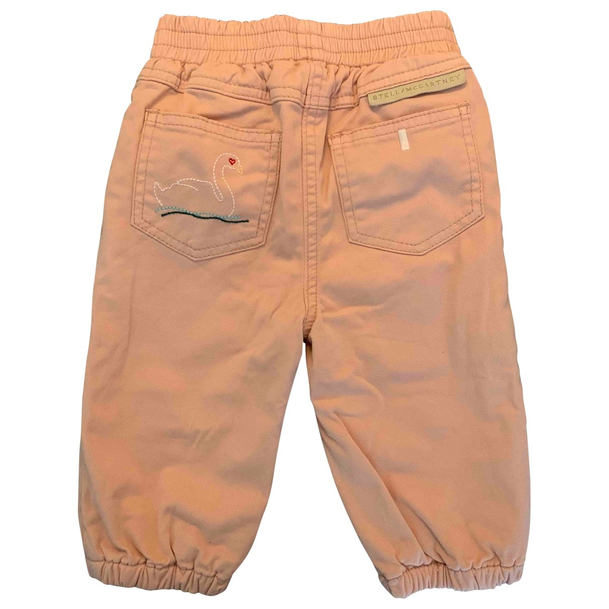Stella Mccartney \N Pink Cotton Trousers for Kids 9 months - up to 71cm FR