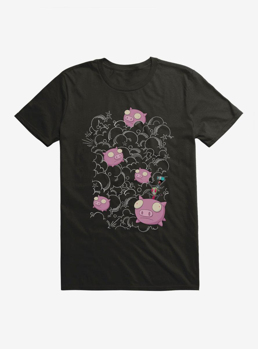 Invader Zim Pig Stampede T-Shirt