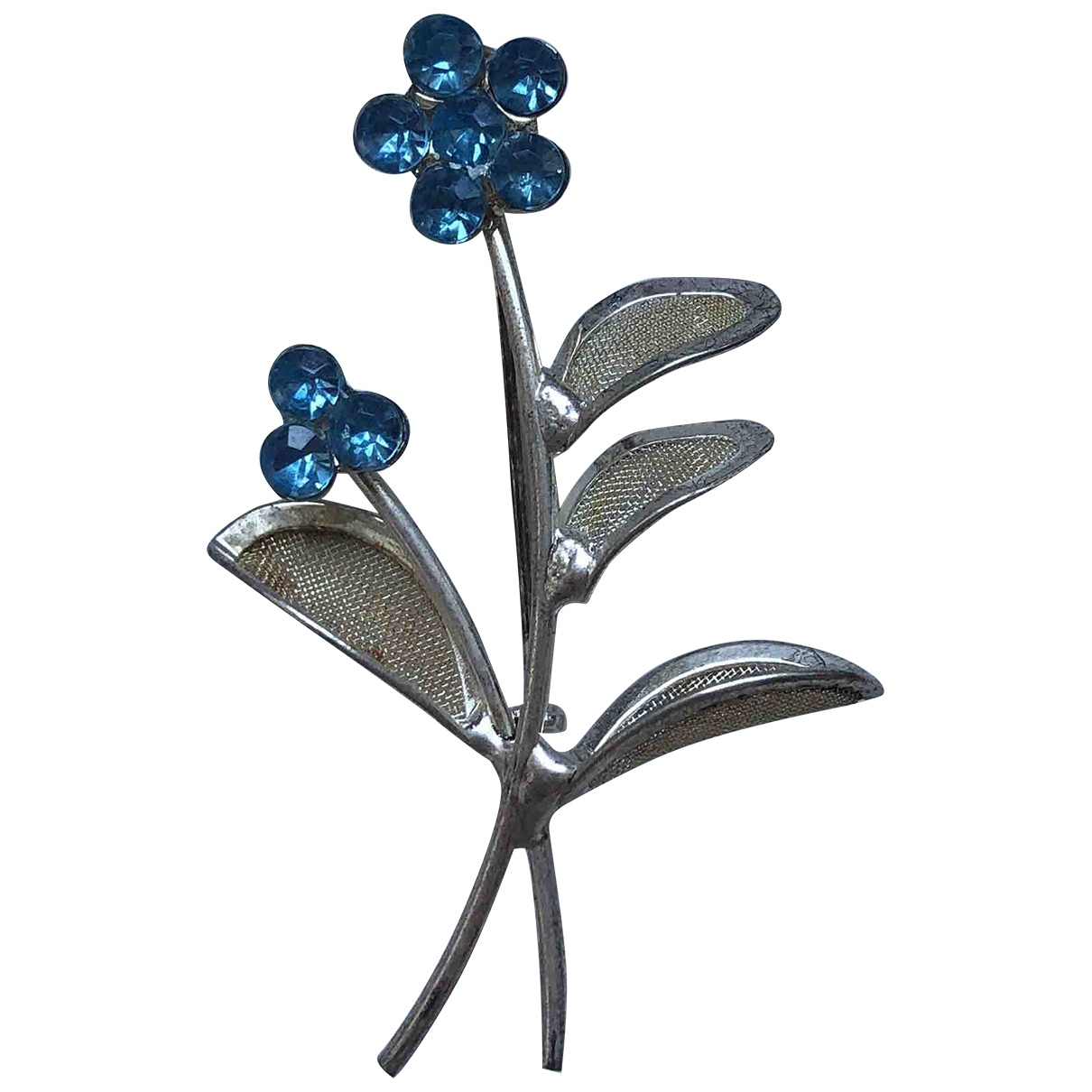 Non Signé / Unsigned \N Silver Metal Pins & brooches for Women \N