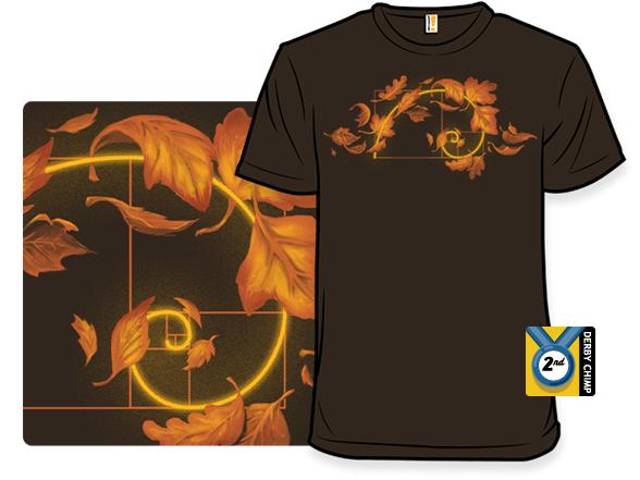 Fall Is Golden T Shirt
