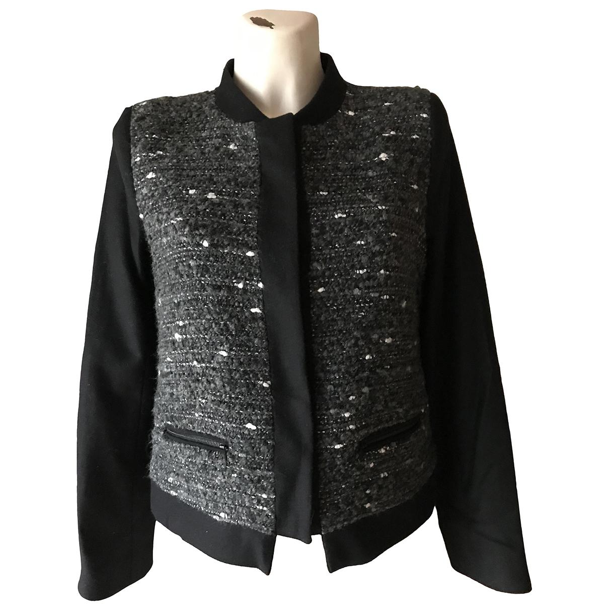 Gerard Darel \N Black Tweed jacket for Women 38 FR