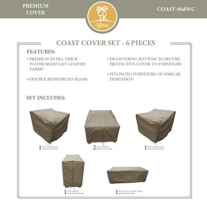COAST-06dWC Protective Cover Set  for COAST-06d in