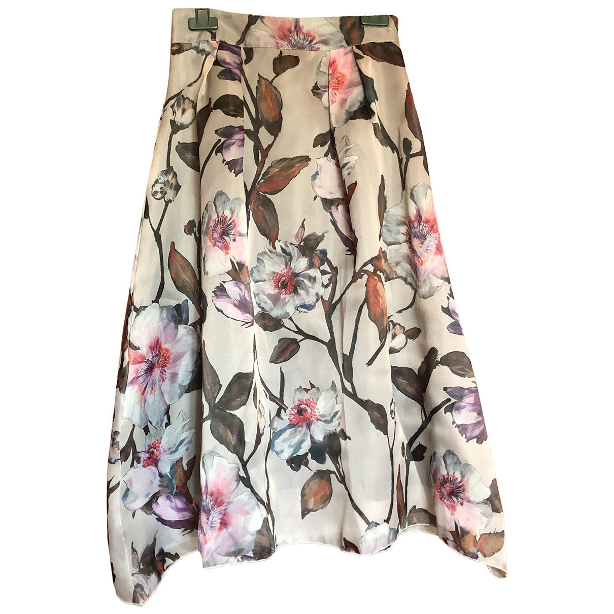 Non Signé / Unsigned \N Grey skirt for Women 44 IT