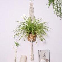 Macrame Woven Plant Hanger