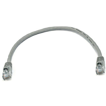 1pi 24AWG Cat5e 350MHz UTP câble réseau Ethernet cuivre nu - Monoprice® - gris