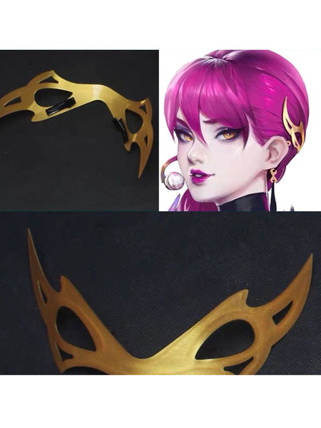 Milanoo League Of Legends KDA Cosplay LOL Evelynn Cosplay Hair Accessory