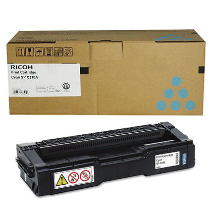 Ricoh 406476 Original Cyan Toner Cartridge High Yield