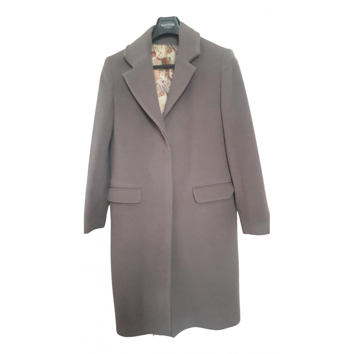 Bensimon - Manteau   pour femme en laine - gris
