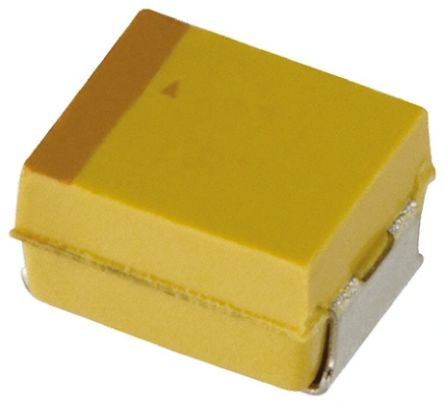 AVX Tantalum Capacitor 68μF 6.3V dc Polymer Solid ±20% Tolerance , TCJ (5)