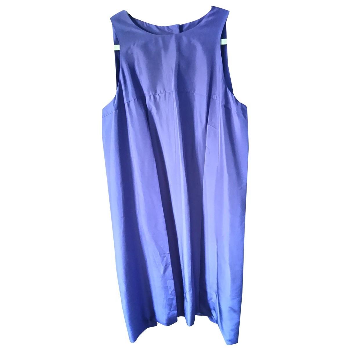 Fendi - Robe   pour femme en soie - violet