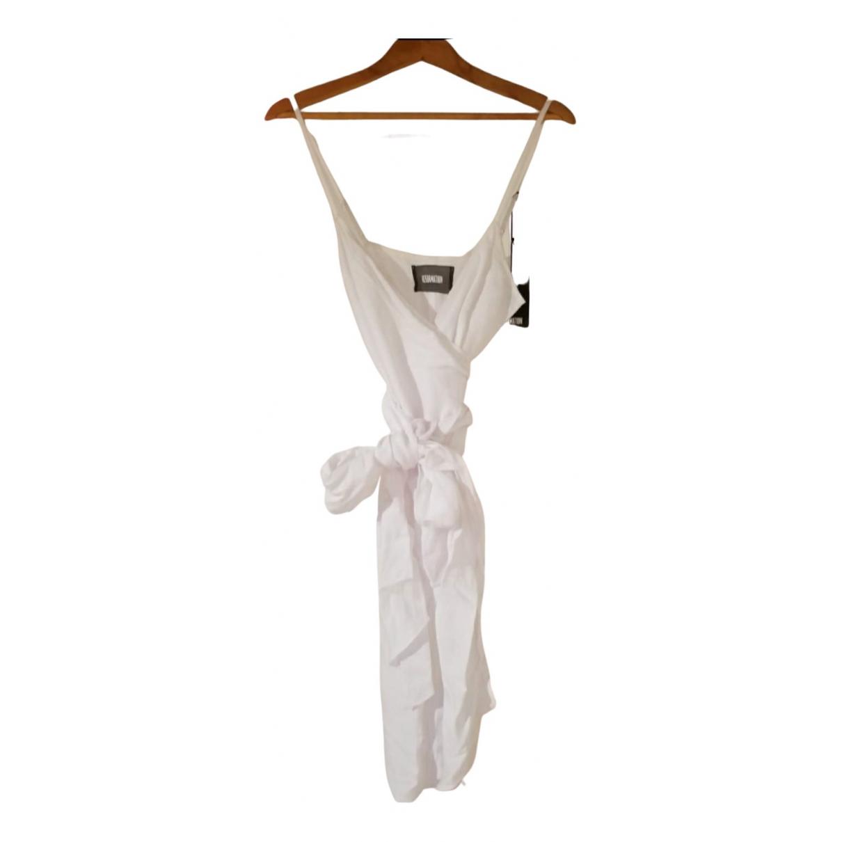 Reformation \N White dress for Women M International