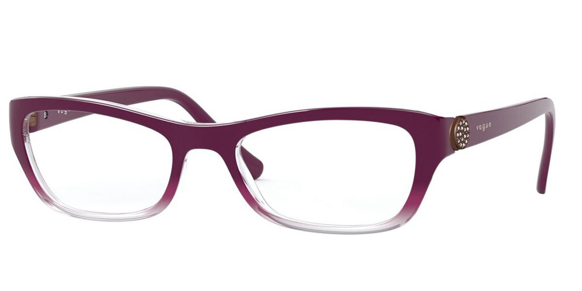Vogue Eyewear VO5306B 2794 Women's Glasses Violet Size 52 - Free Lenses - HSA/FSA Insurance - Blue Light Block Available