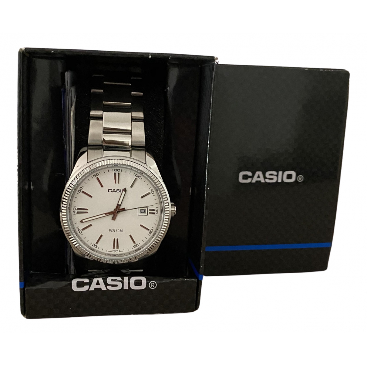 Casio \N Silver Steel watch for Women \N
