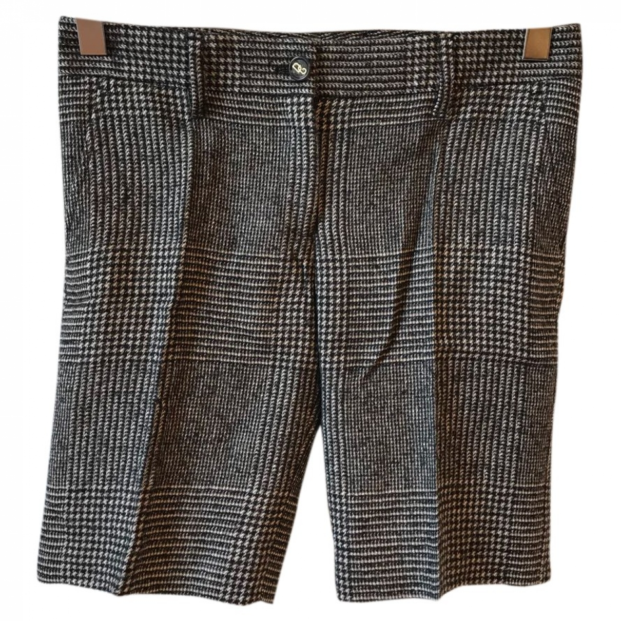Dolce & Gabbana \N Grey Wool Shorts for Women 40 IT