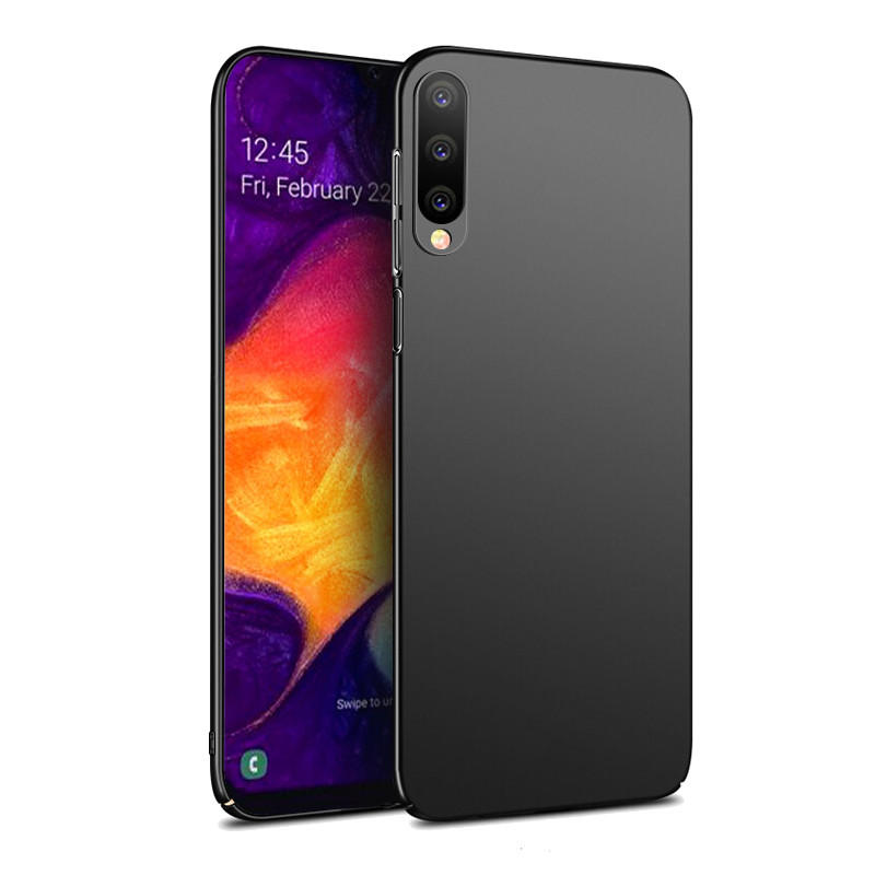 Bakeey Ultra-Thin Anti-Fingerprint Frosted Hard PC Protective Case for Samsung Galaxy A50 2019