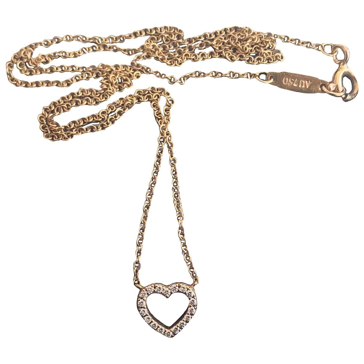 Tiffany & Co - Pendentif   pour femme en or jaune - dore