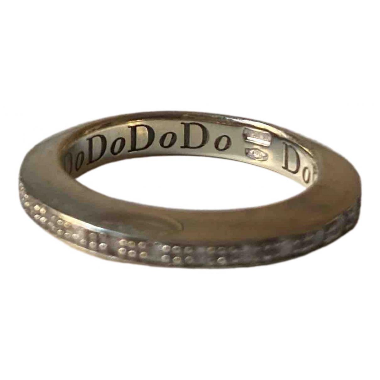 Dodo Pomellato - Bague   pour femme en or blanc - argente