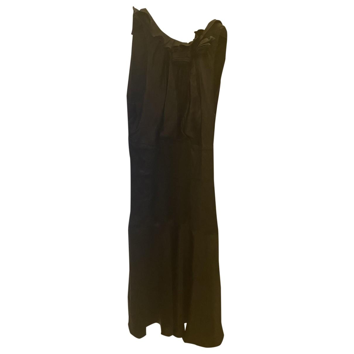 Guess \N Kleid in  Schwarz Seide