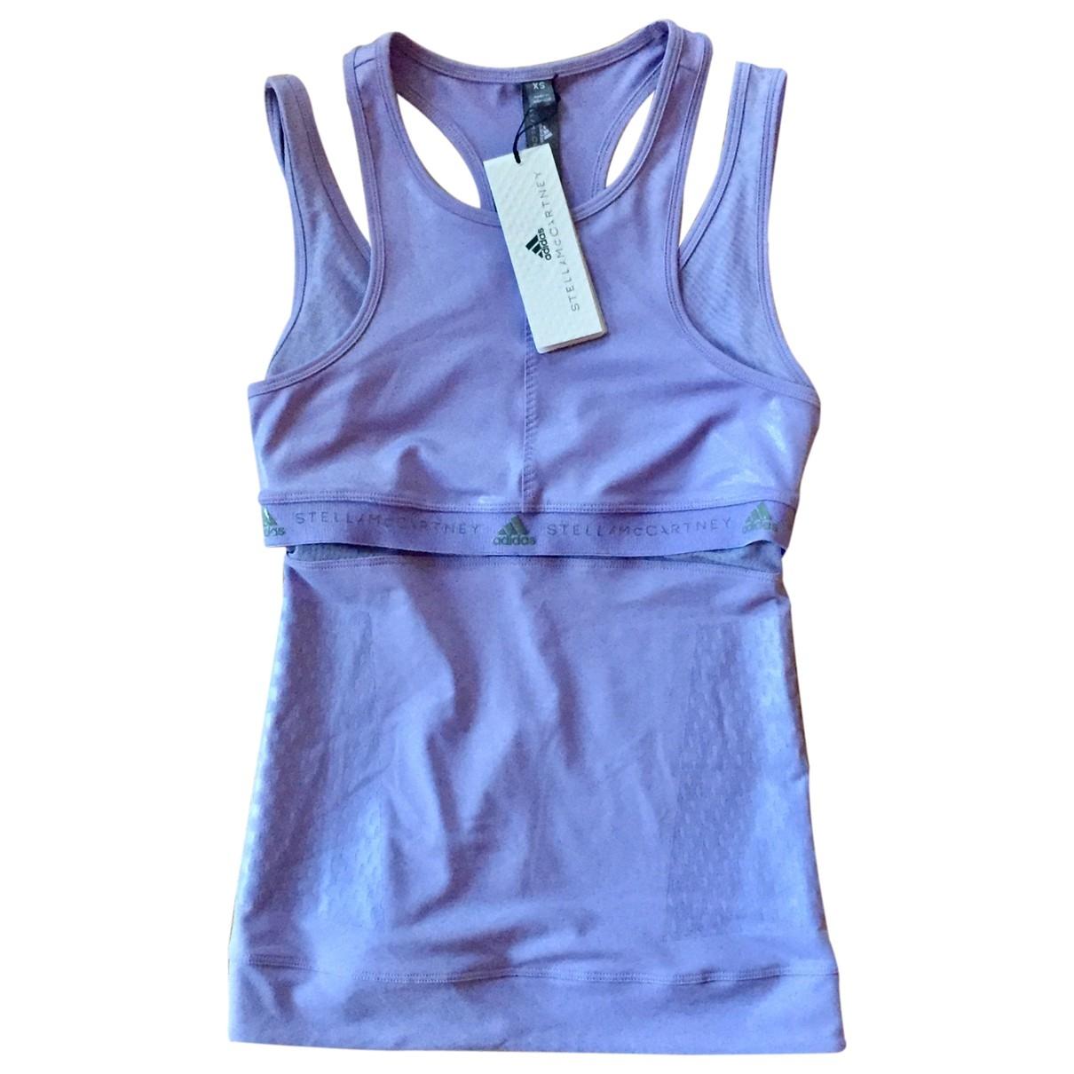 Stella Mccartney Pour Adidas - Top   pour femme - violet