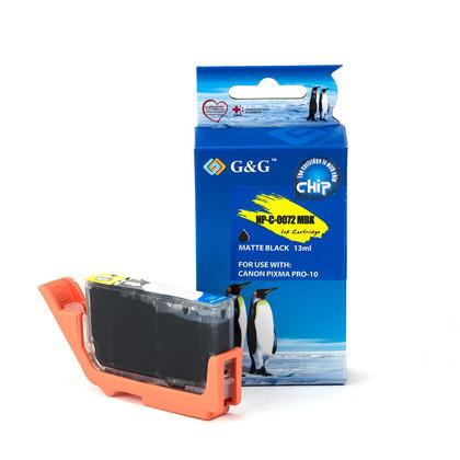 Compatible Canon PGI-72MBK cartouche d'encre noire mat - G&G