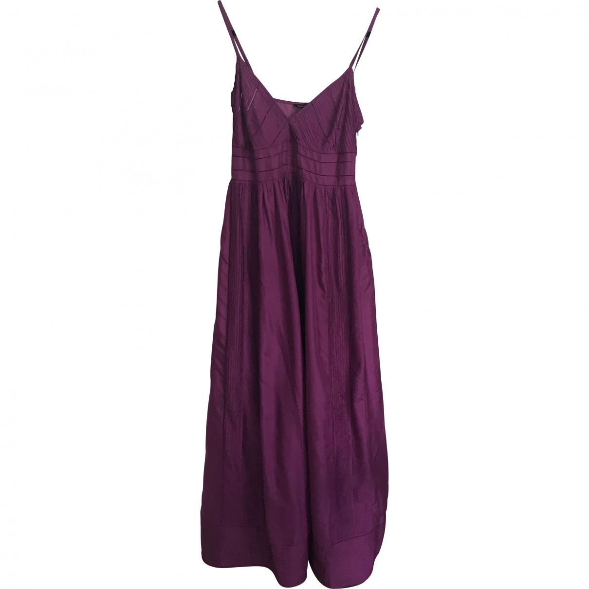 Tara Jarmon \N Purple Silk dress for Women 40 FR