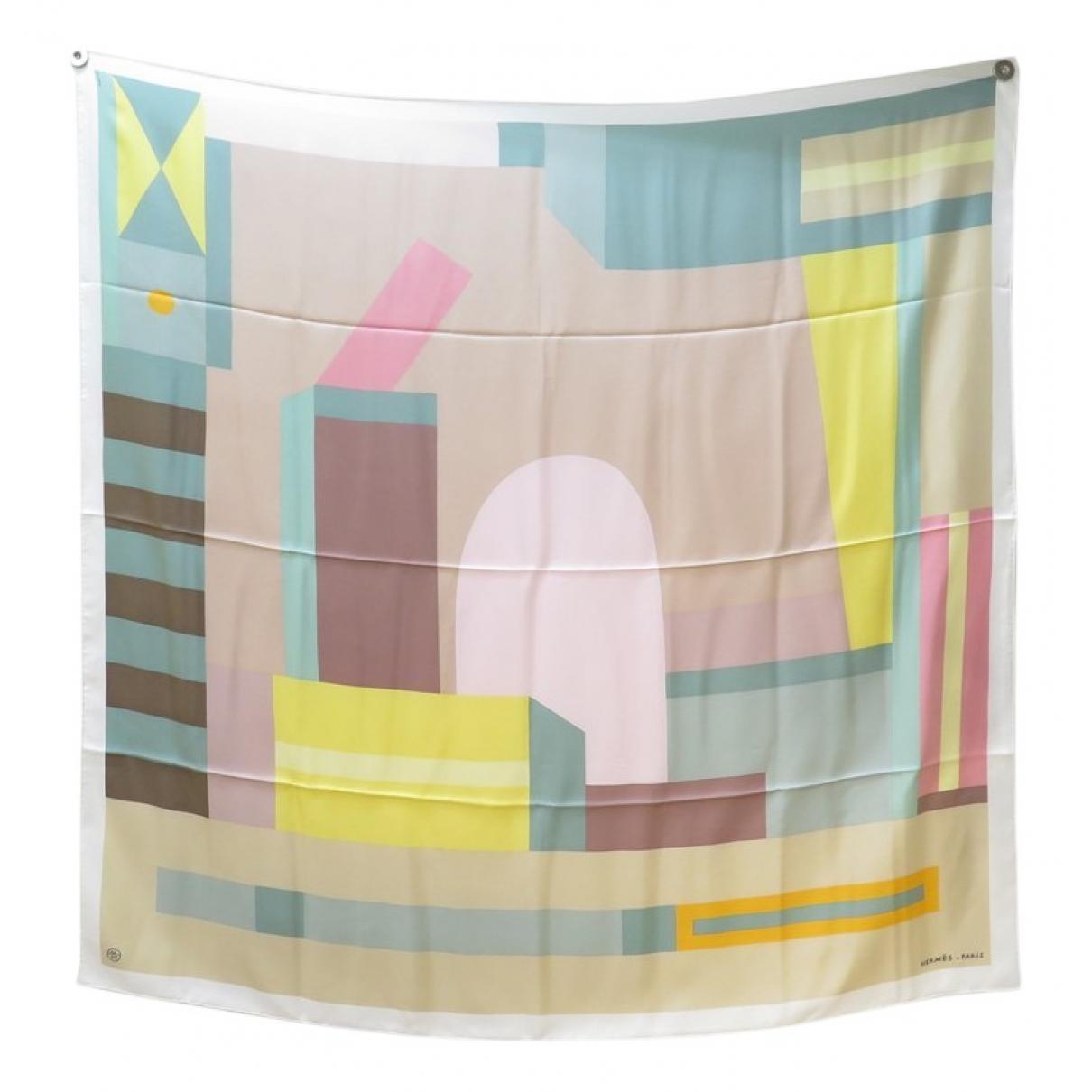 Hermes - Foulard Chale 140 pour femme en soie - multicolore