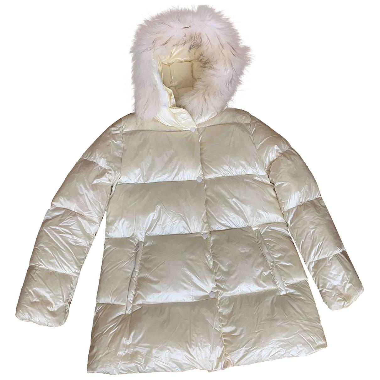 - Blousons.Manteaux   pour enfant en fourrure - ecru