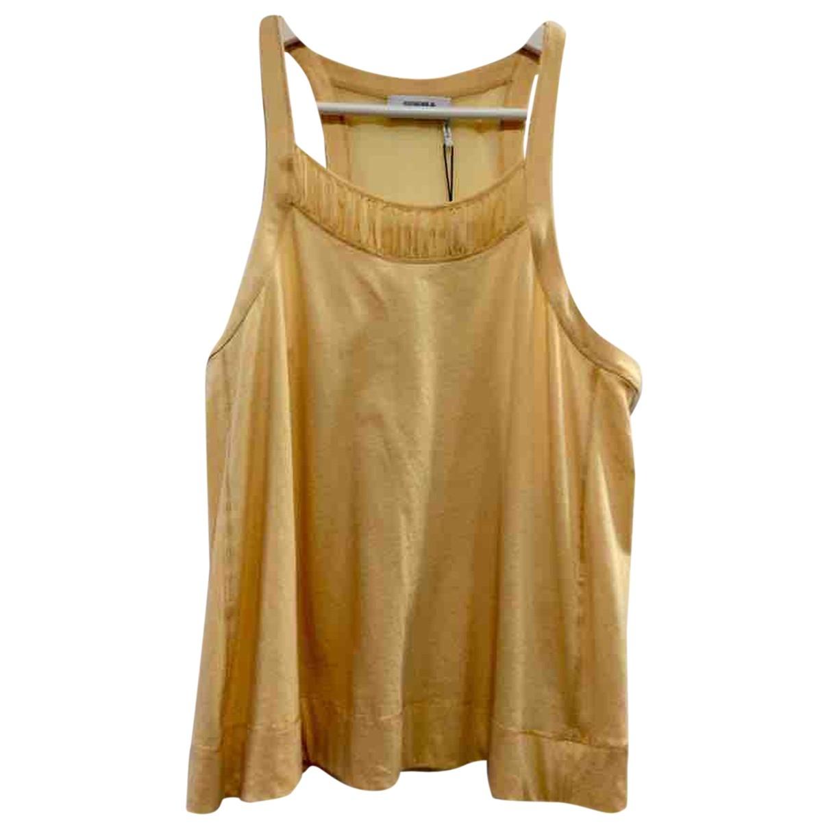 Sonia By Sonia Rykiel - Top   pour femme en coton - jaune