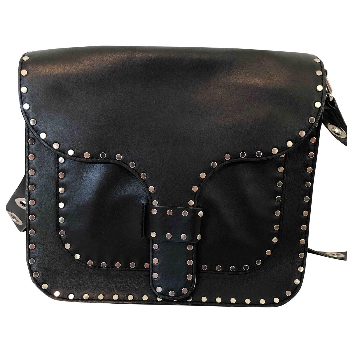 Rebecca Minkoff \N Black Leather handbag for Women \N