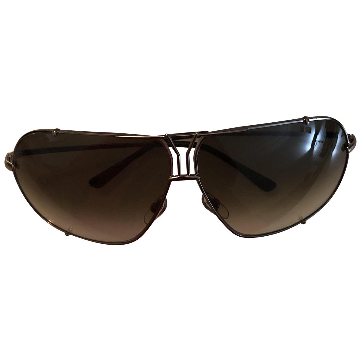 Yves Saint Laurent N Anthracite Metal Sunglasses for Women N