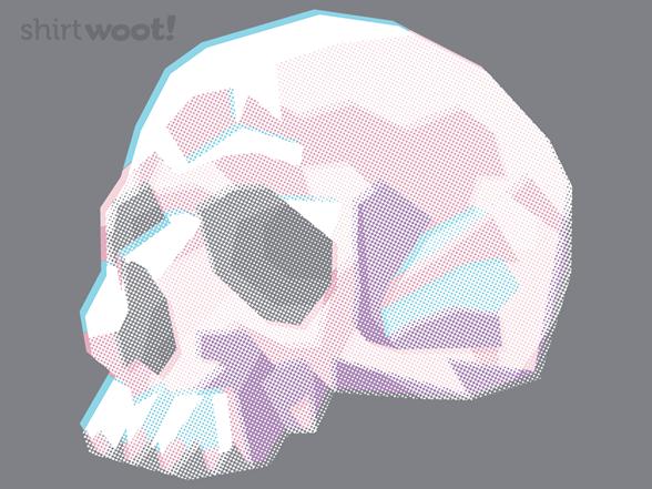 Lo-fi Skull T Shirt
