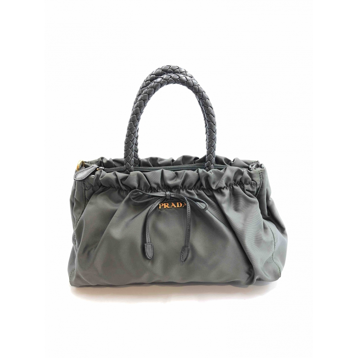Prada \N Grey Cotton handbag for Women \N