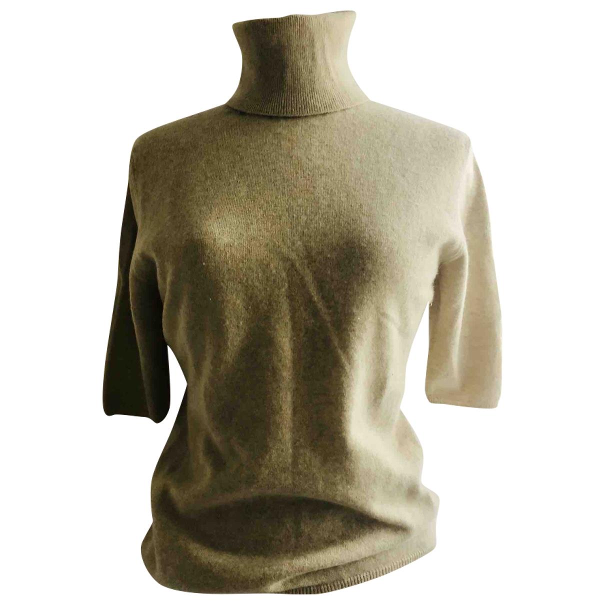 Allude \N Beige Cashmere Knitwear for Women 40 FR