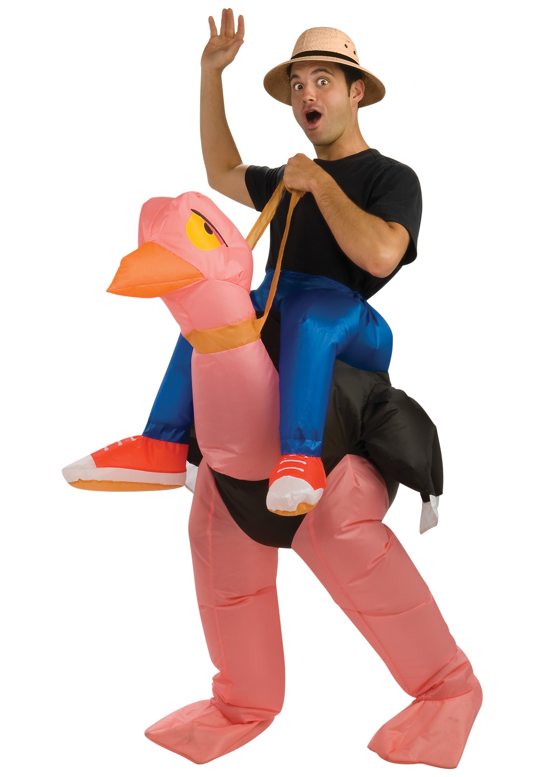 Inflatable Ostrich Costume for Adults