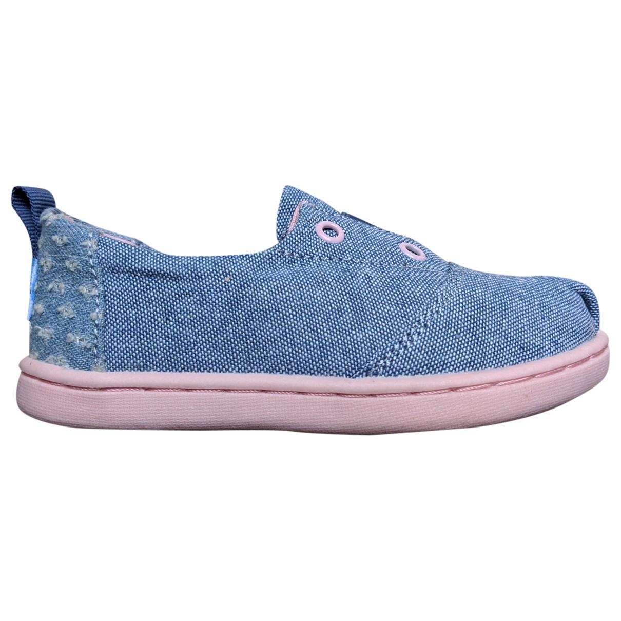 Toms - Baskets   pour enfant en toile - bleu