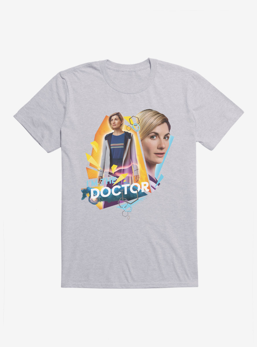 Doctor Who Thirteenth Doctor I Am The Doctor T-Shirt