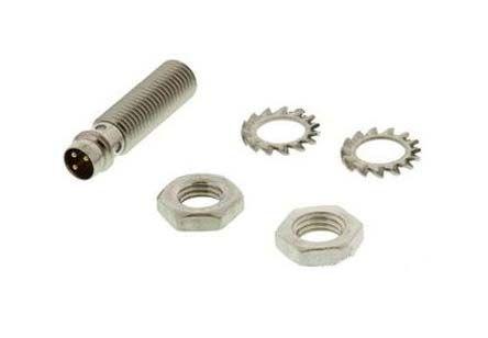 Turck M8 x 1 Inductive Sensor - Barrel, PNP-NC Output, 2 mm Detection, IP67, M8 - 3 Pin Terminal