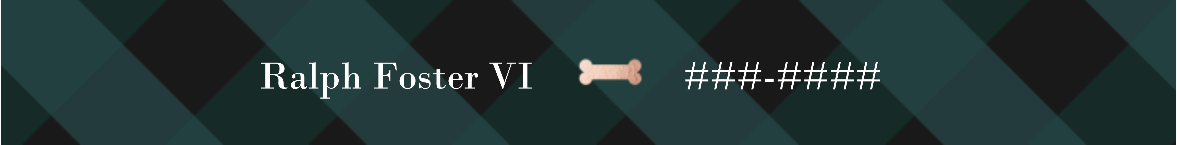 Featured Large Pet Collar, Gift -Dapper Dog