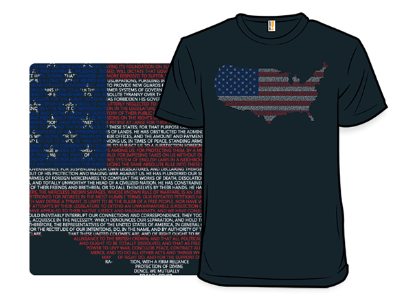 Declare Your Independence T Shirt