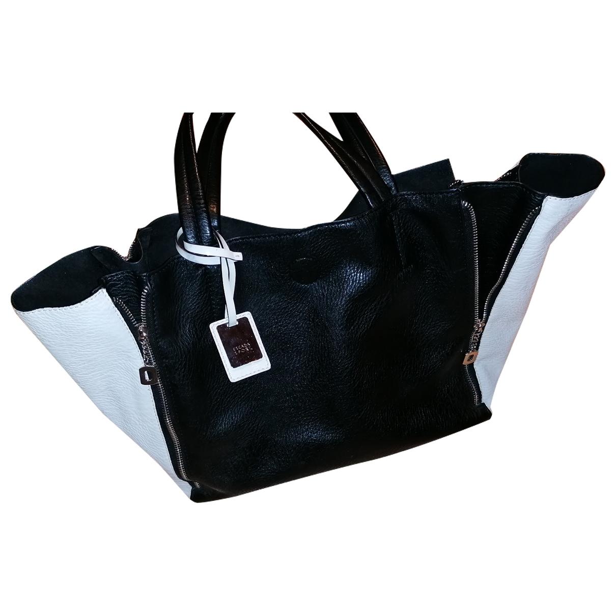 Escada \N Black Leather handbag for Women \N