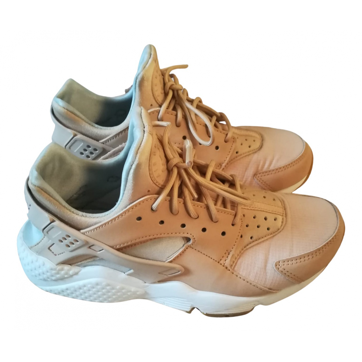 Nike Huarache Sneakers in  Rosa Polyester