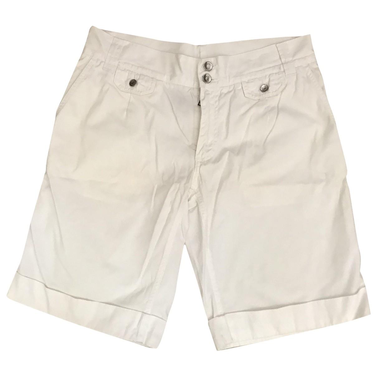 Dolce & Gabbana \N Shorts in  Ecru Baumwolle