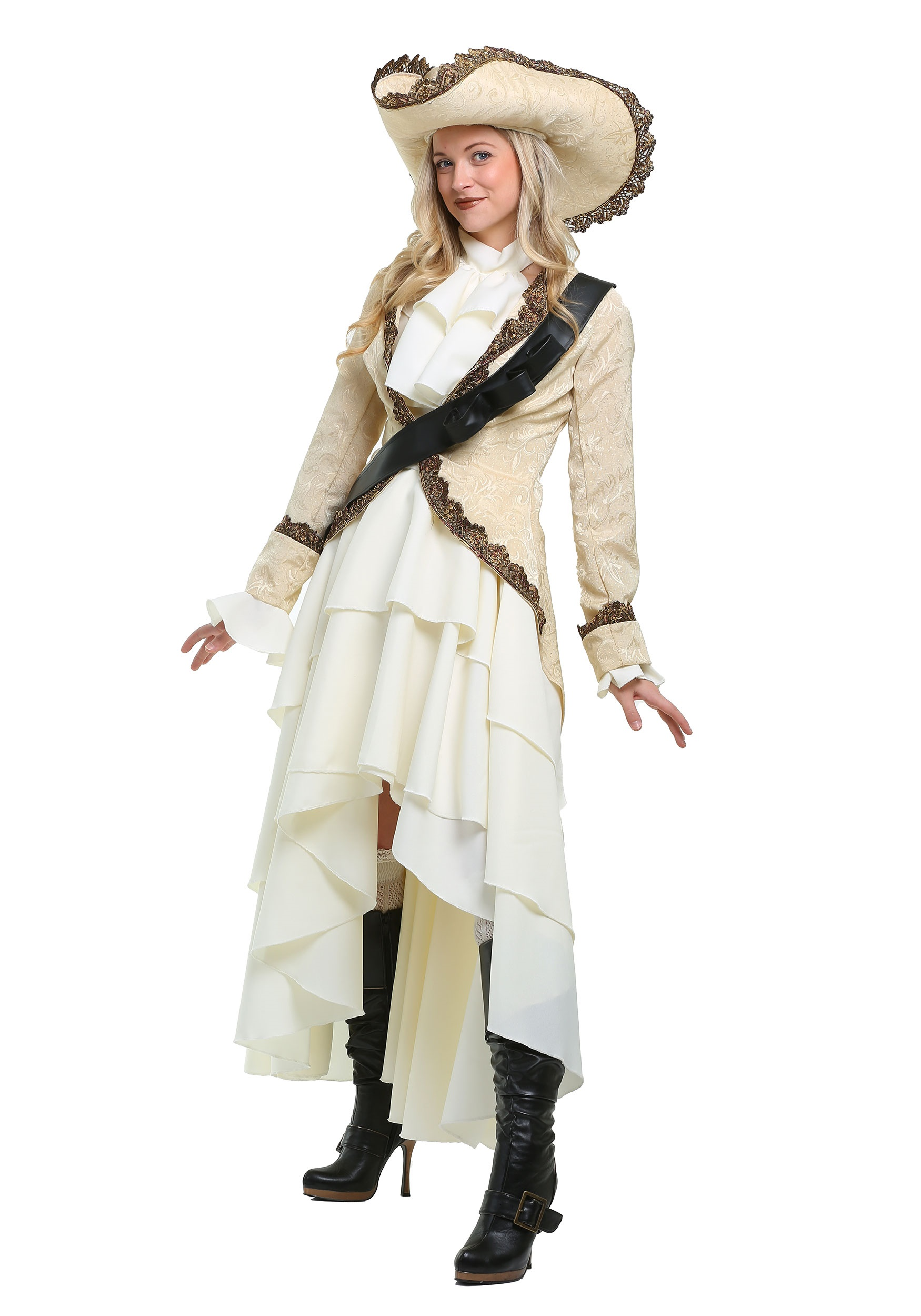 Captivating Pirate Plus Size Costume for Women 1X 2X