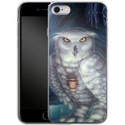 Apple iPhone 6 Silikon Handyhuelle - Ed Beard Jr - Wizard Messenger Owl von TATE and CO