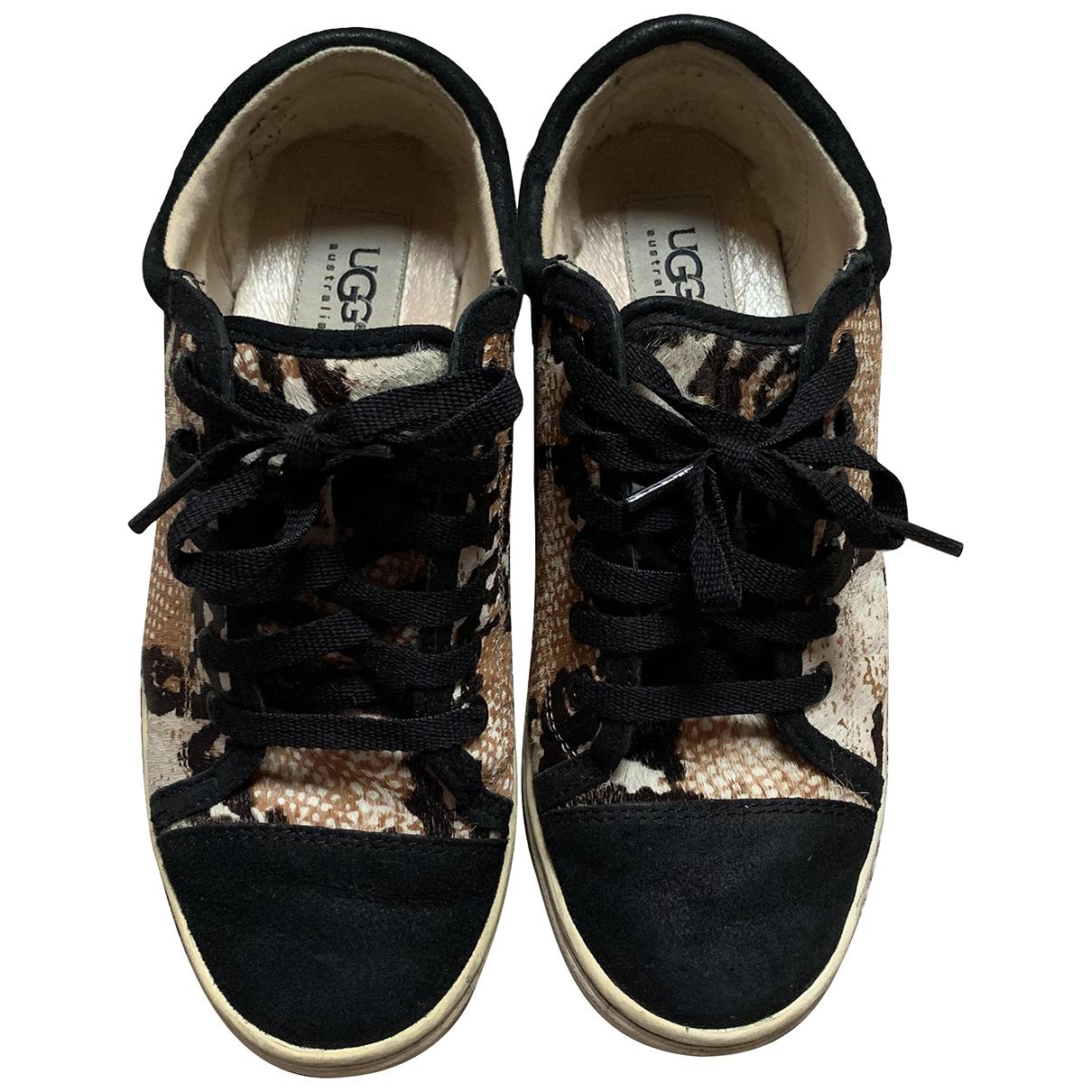 Ugg \N Sneakers in Kalbsleder in Pony-Optik