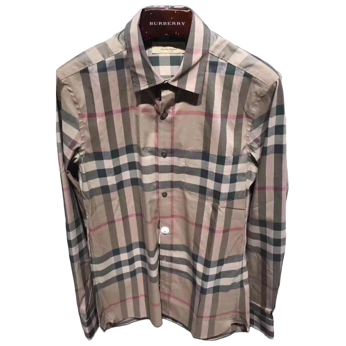 Burberry - Chemises   pour homme en coton