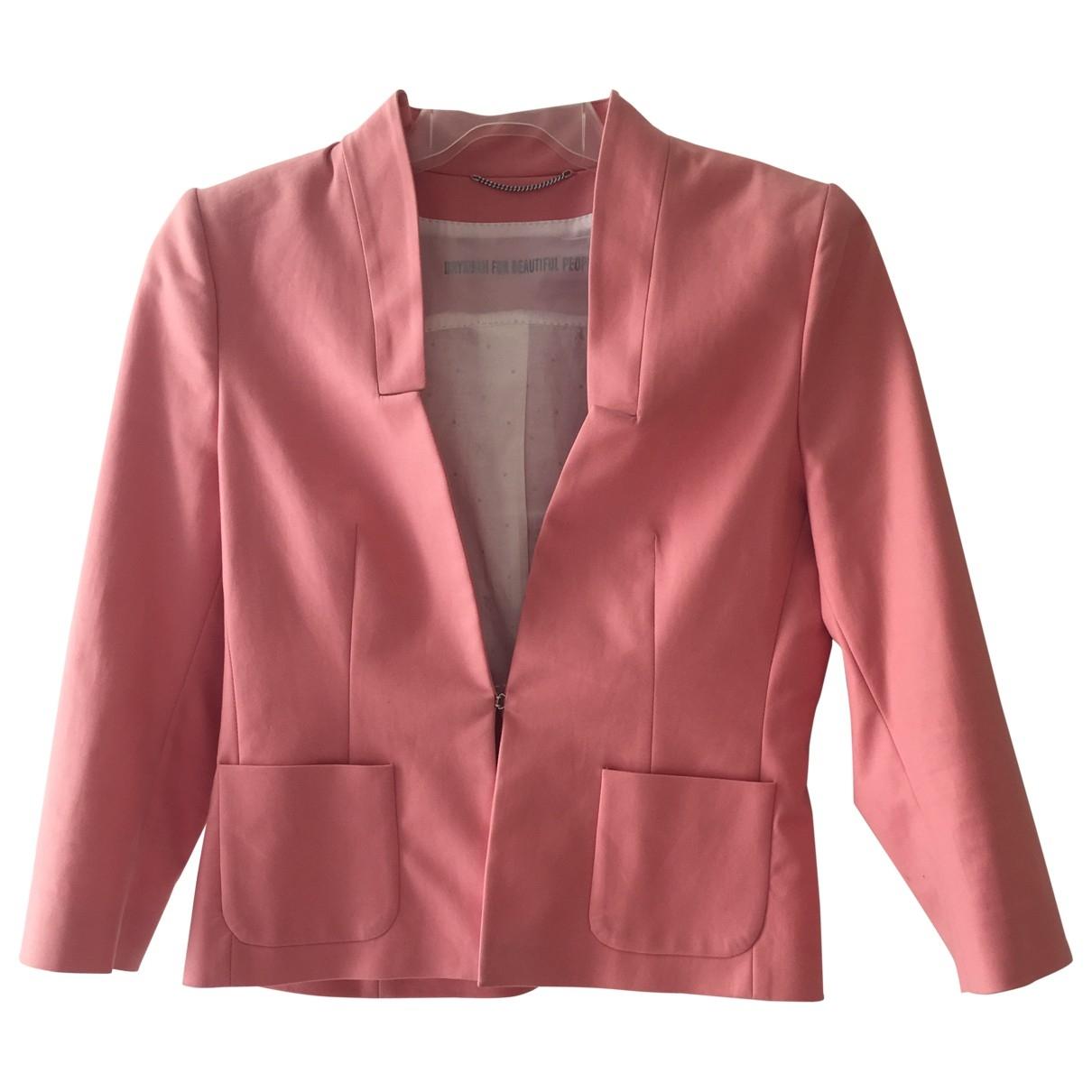 Drykorn - Veste   pour femme en coton - rose